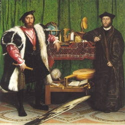 The Ambassadors, by Holbein
